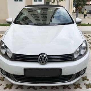 Volkswagen Golf Cabriolet 1.4 Auto TSI DSG EQP