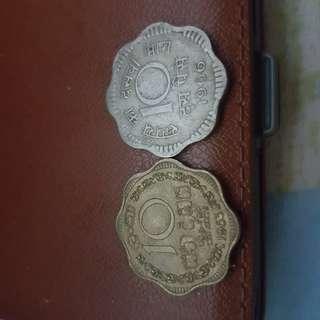印度,1963 1966年10cent