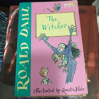 Ronald Dahl witches