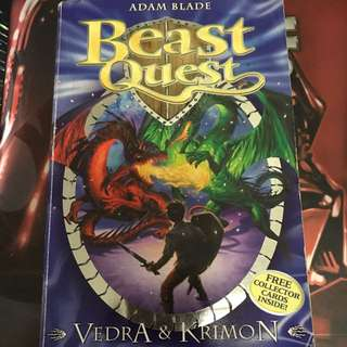 Beast quest verda and krimon