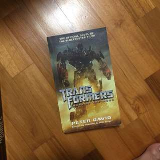 Transformer storybook