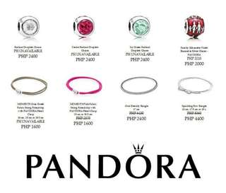 Authentic Pandora Necklaces and Bangles for Preorder
