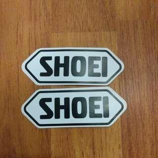 NEW Shoei Brand Motorcycle Helmet Stickers