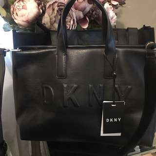 DKNY Black Leather Bag