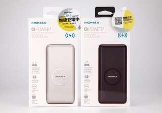 Momax Qpower 10000mah wireless power bank