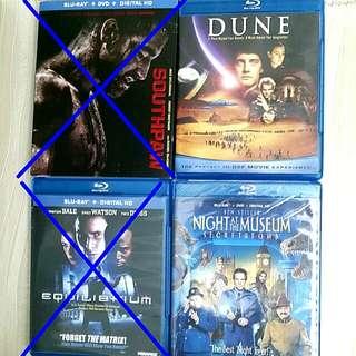 Blu-ray + DVD + Digital HD