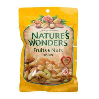 NATURE'S WONDERS - FRUITS & NUTS FUSION 270G