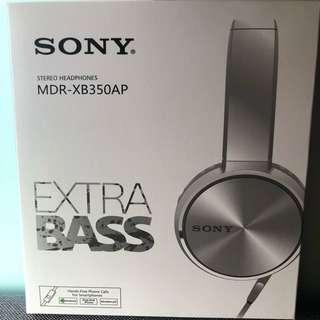 Sony MDR-XB350AP (SILVER)