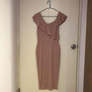 🚚 ASOS粉色洋裝