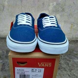 Vans authentic navy/blue