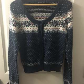 Blue Bluenotes Sweater