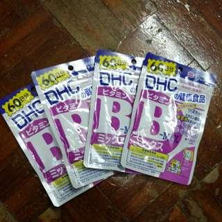 DHC 維他命B雜 4包 supplement 60 日份量