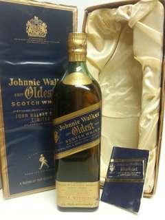 Johnnie Walker Blue Label Oldest 尊尼獲加藍牌 750ml