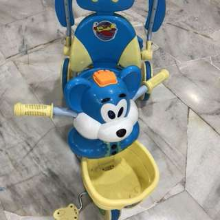 Tricycle stroller baby