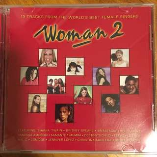 Woman 2 - 19 tracks from the world's best female singers ( CD )