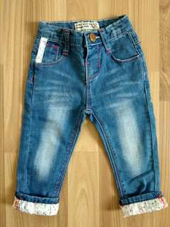 Baby jeans fashion