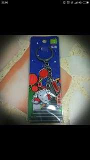 Sanrio Hello Kitty Taiwan Jiu Fen Old Street Keychain