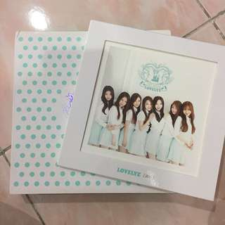 LOVELYZ GIRLS'INVASION ALBUM