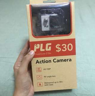 Brand new PLG Action camera