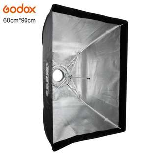 Godox 60x90cm Softbox for Bowens Mount Studio Flash
