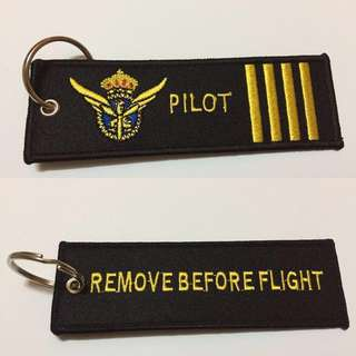 Embroidery Pilot Keytag!