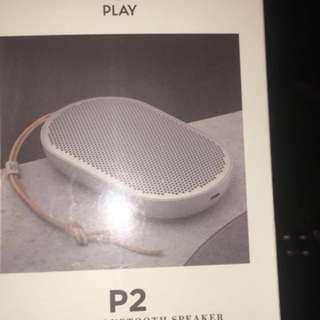 全新正品 B&O Play Beoplay P2 Speaker(購自永安百貨)