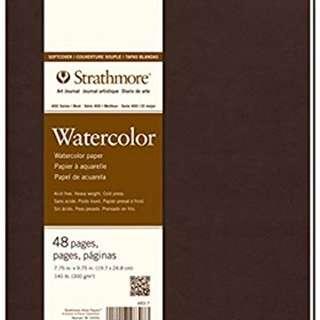 strathmore watercolour a4 art journal