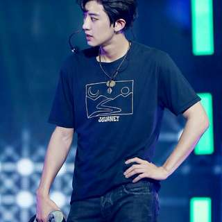 exo park chanyeol t-shirt/tee