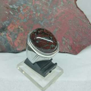 Red and Black Badar Besi/Magnetic Stone