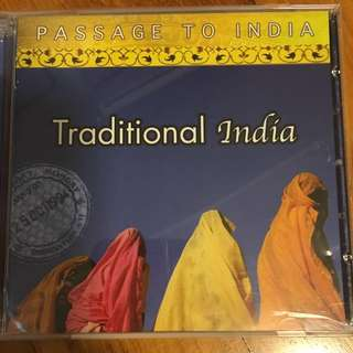 Passage to India - traditional India ( 2 CD )