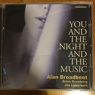 Alan broadbent - you and the night and the music ( CD )