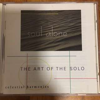 Soul alone - the art of the solo ( CD )