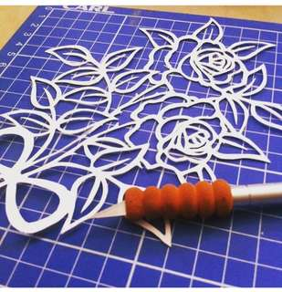 Customized papercut artwork