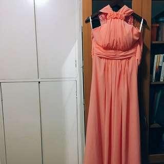 姊妹裙 伴娘 飲宴 謝師宴 長裙 連身裙 annual dinner cocktail party bridesmaid dress
