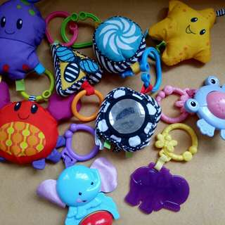Fisherprice cot mobile toys