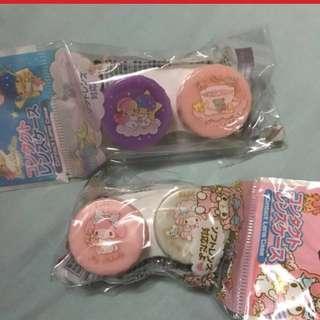 包郵Japan Sanrio contact lens case