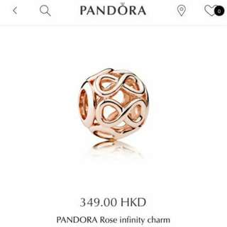 Pandora 正品Rose gold,8成新(單要搵下)