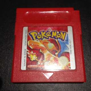 Pokemon red cartridge