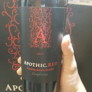 Apothic red california 2015 紅酒 75CL