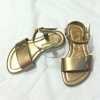 Sugar Kids Gold Sandals