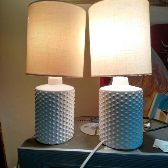 2 Retro Lamps