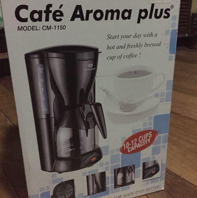3D Cafe Aroma Plus