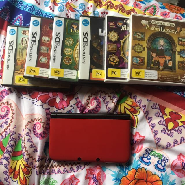 3DS + professor Layton series
