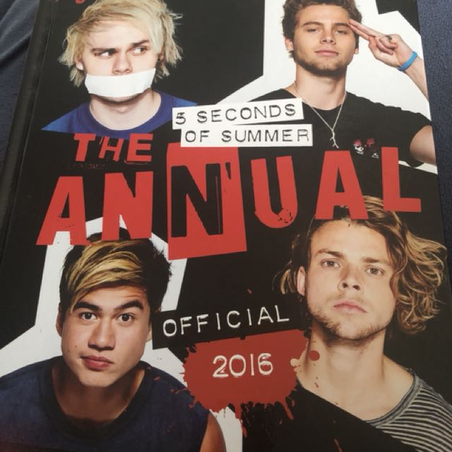 5 seconds of summer annual
