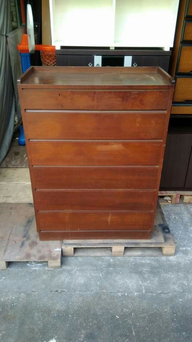 7 Drawer Chest Cabinet Brown 🎄🎅☃️🦌🎆