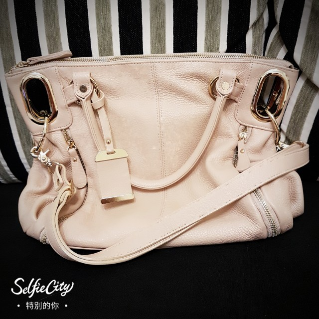 素雅嫩粉色系包包
