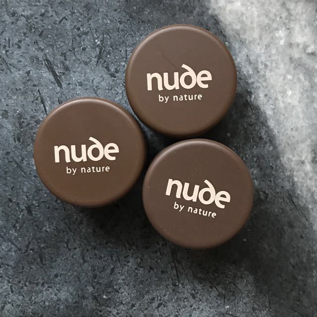 🔸 Nude by Nature (sample sizes)