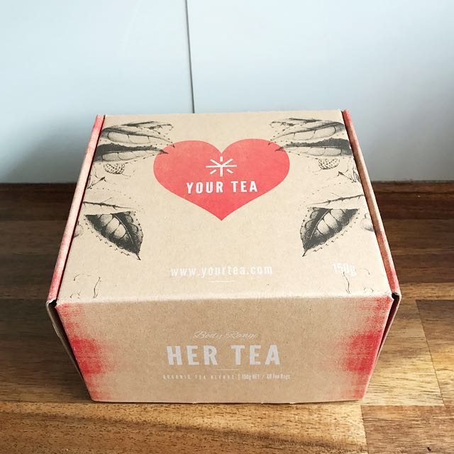 "🔸 Your Tea Body Range ""Her Tea"" Box"