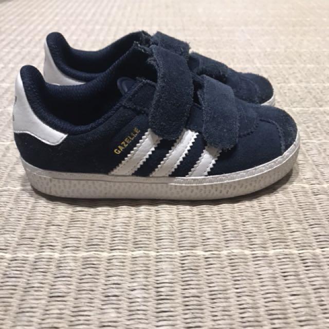 6269a9ba809 Adidas Gazelle Sneakers (Suede Material) Navy, Babies & Kids, Boy's ...
