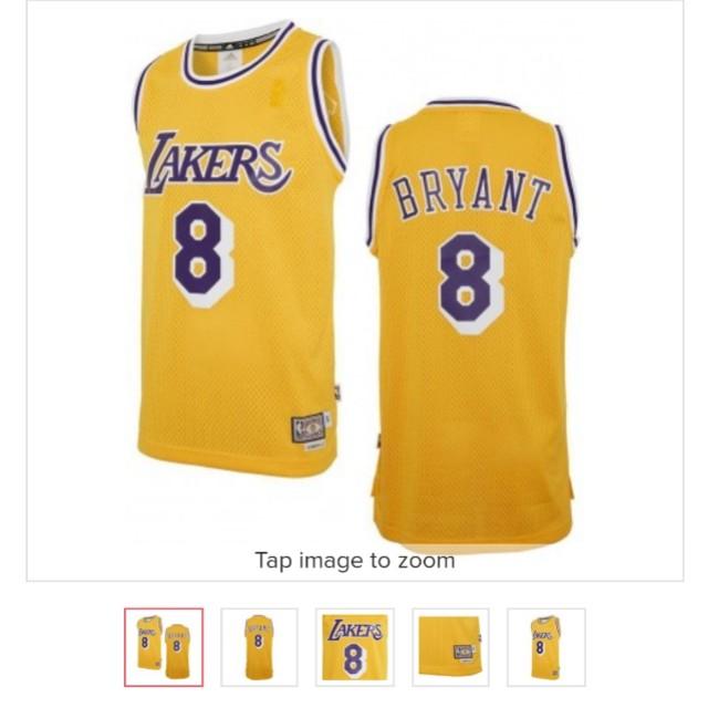 800a3ff56ea adidas Kobe Bryant Swingman Throwback Jersey